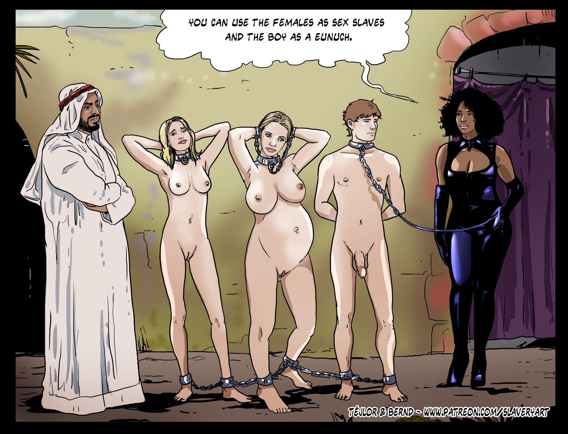 Girl sex slave cartoons