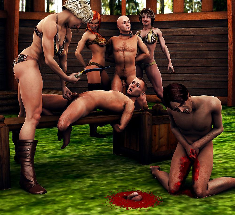 Castration Fantasy Story